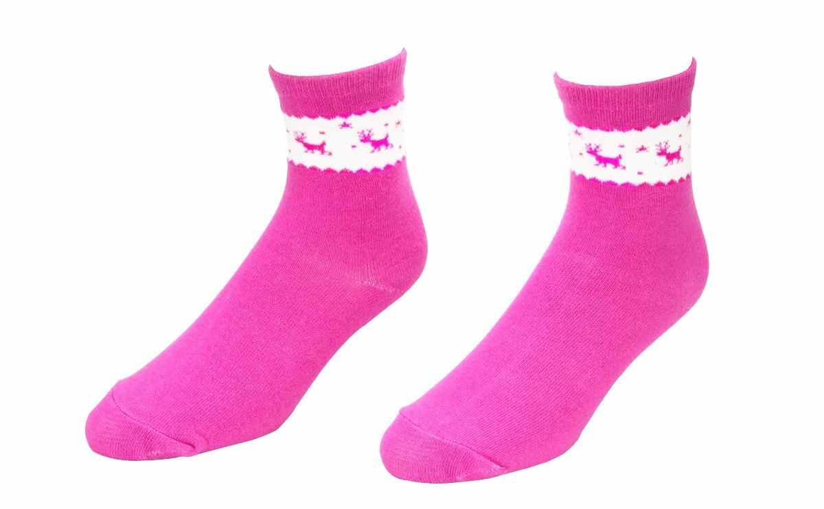 【6610】- 麋鹿造型襪(平面)